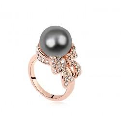 Женские кольца с жемчугом оптом