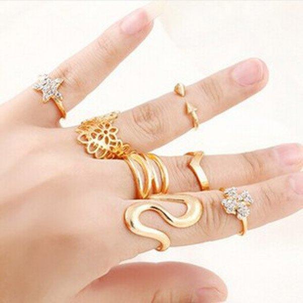 Fashion кольца оптом и мелким оптом с доставкой по России
