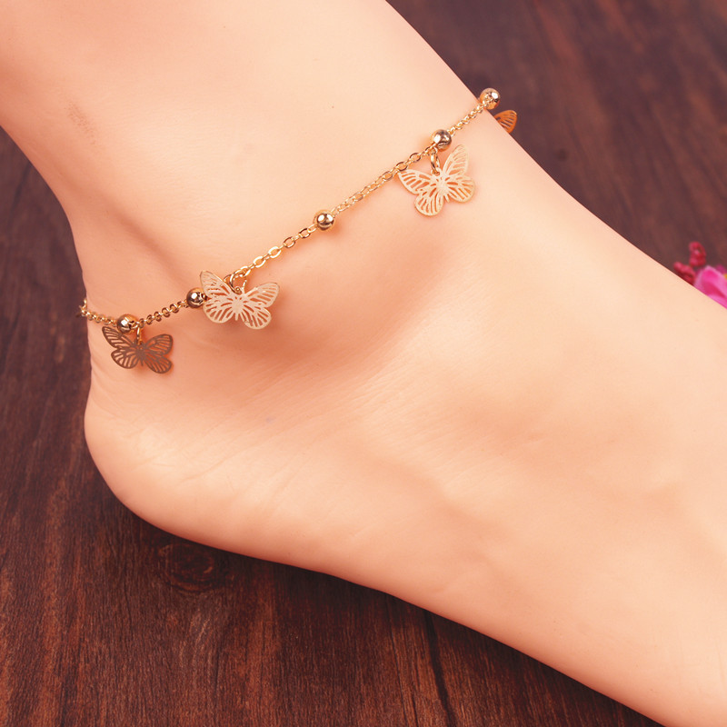 Fashion браслеты на ногу оптом и мелким оптом с доставкой по России