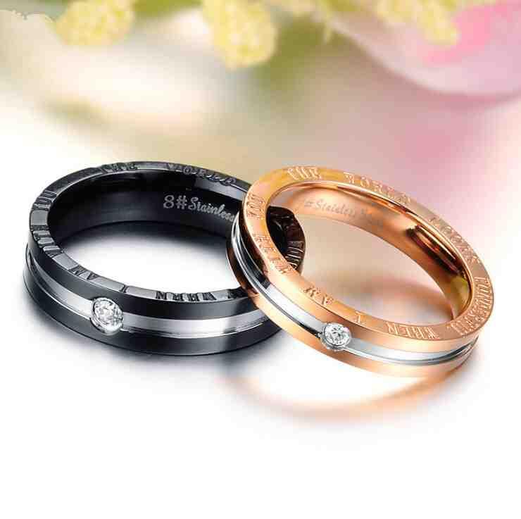 Мужские парные кольца оптом