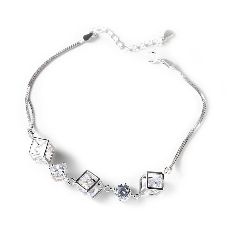 Женские серебряные браслеты оптом